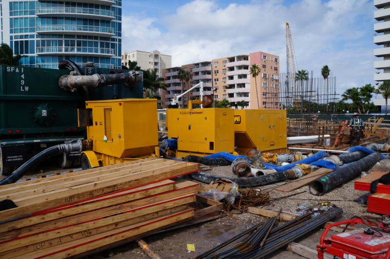 Best Practices for Dewatering at a Construction Site mwicorp mwi pumps