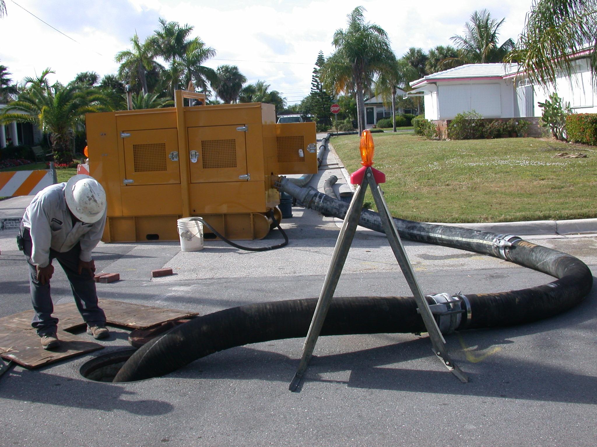 Sewage Bypass Pumping