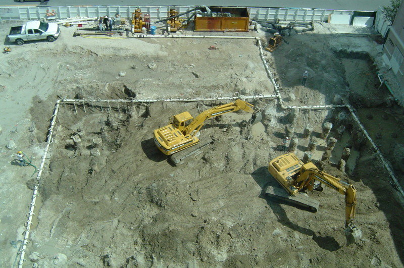 Pumps for Wellpoint Dewatering at a Construction Site on mwicorp.com