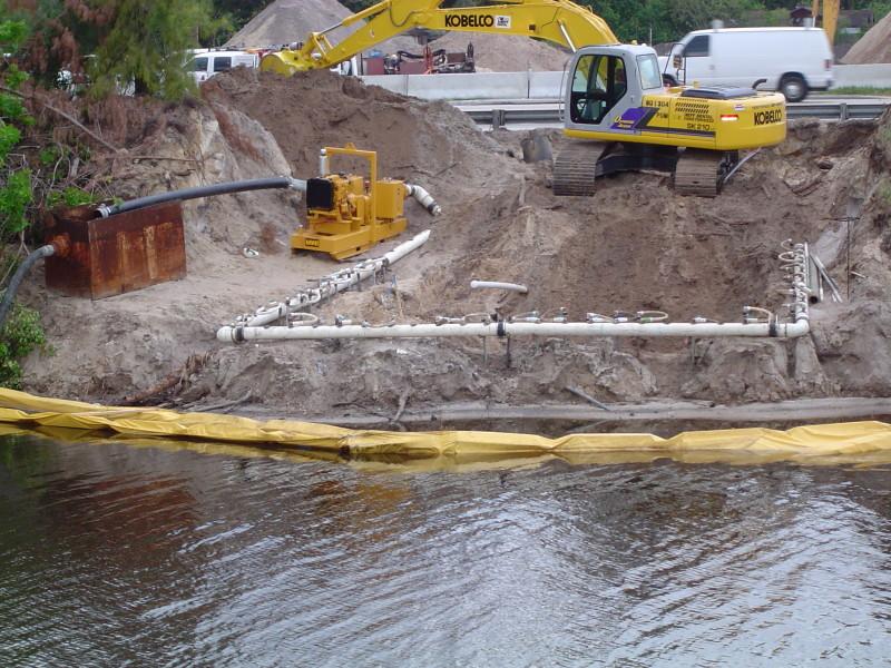 wellpoint dewatering rotoflo lake big pump rentals