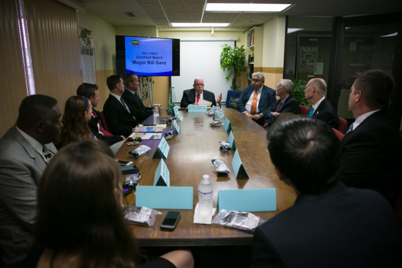Rick Scott roundtable discussion