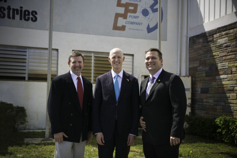 Governor Scott visits MWI