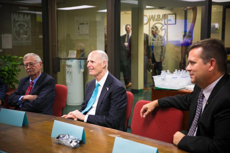 Governor Scott at MWI
